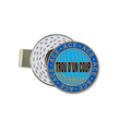 HAT CLIP/BALL MARKER HOLE IN ONE - Stock French (Trou d'un Coup)