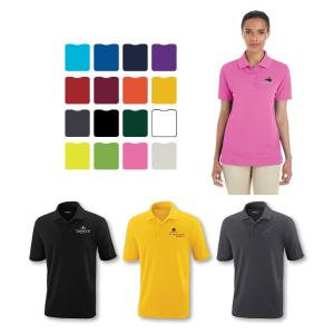 MICRO MESH WOMEN'S POLO SHIRT- Embroidered