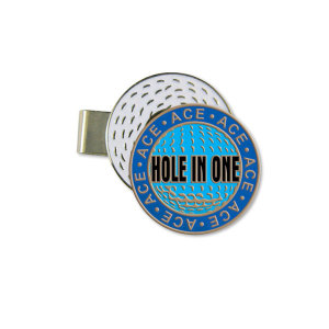 HAT CLIP/BALL MARKER HOLE IN ONE - Stock