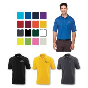 MICRO MESH MEN'S POLO SHIRT- Embroidered
